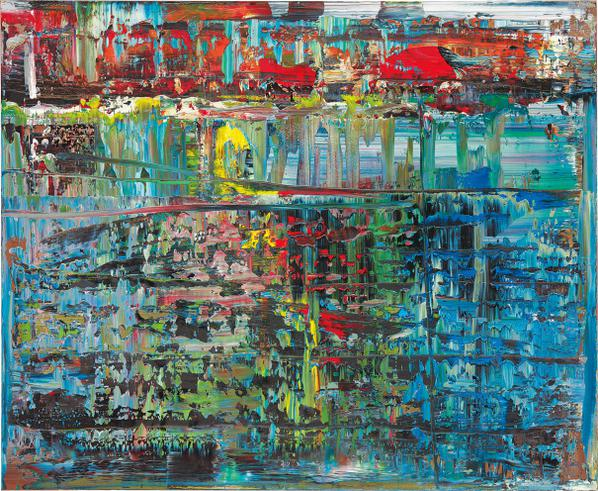 Gerhard Richter-Abstraktes Bild (714-1)-1990