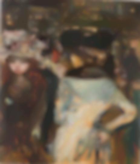 Pierre Bonnard-Place Clichy Ou Les Deux Elegantes-1905