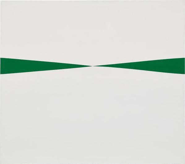 Carmen Herrera-Blanco Y Verde-1966