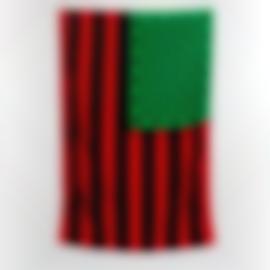 David Hammons-African American Flag-1990