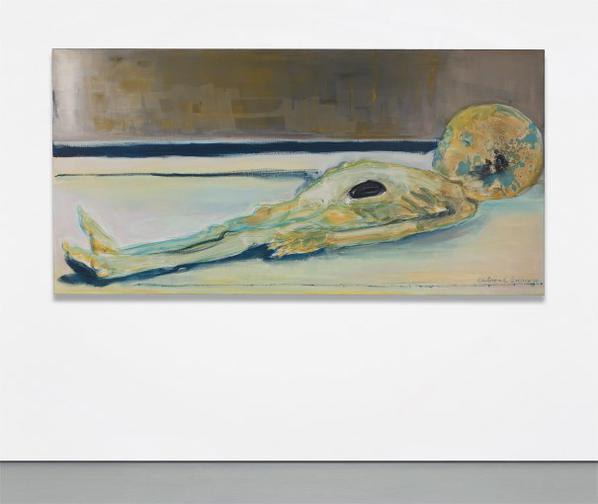 Marlene Dumas-Cultural Exchange (Mummie Wants To Go Home)-2009
