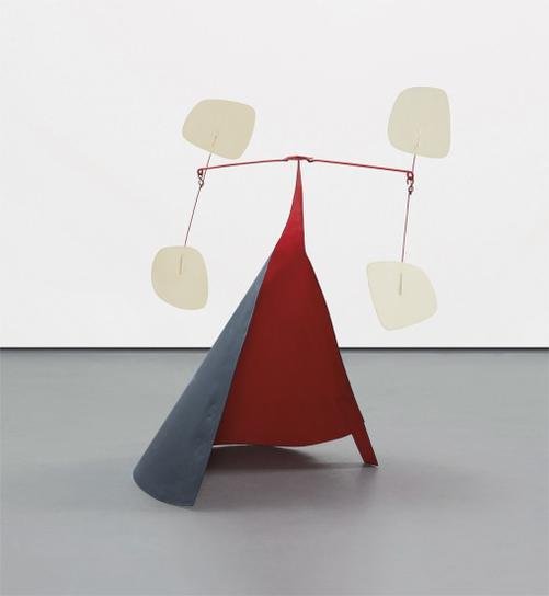 Alexander Calder-Conique Noir-1973