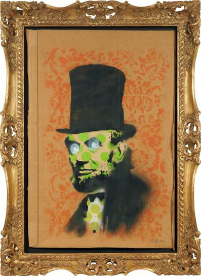 Banksy-Abe Lincoln-2008