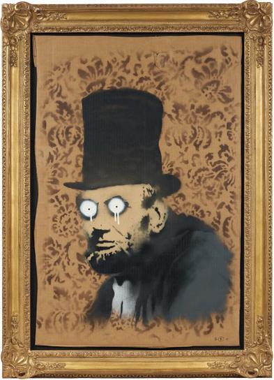 Banksy-Abe Lincoln-2008