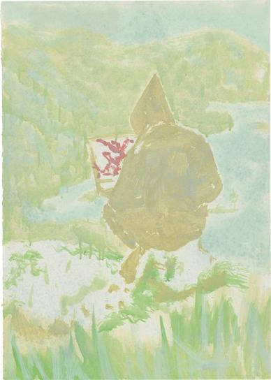Peter Doig-Figure In Mountain Landscape (The Big...)-1998