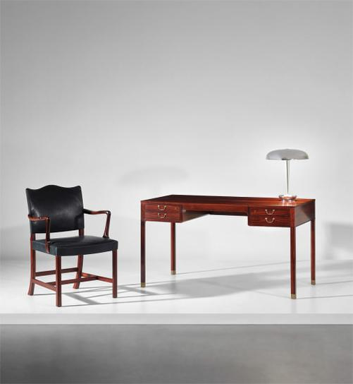 Ole Wanscher - Desk And Armchair-1946