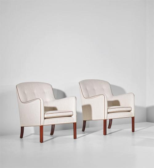 Ole Wanscher - Pair Of Armchairs-1952