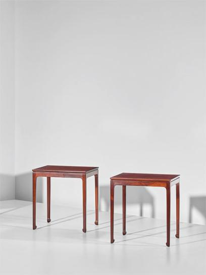 Ole Wanscher - Pair Of Side Tables-1957