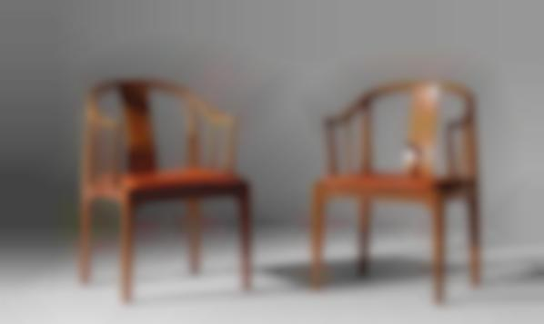 Hans J. Wegner-Pair Of China Chairs, Model No. 4283-1968
