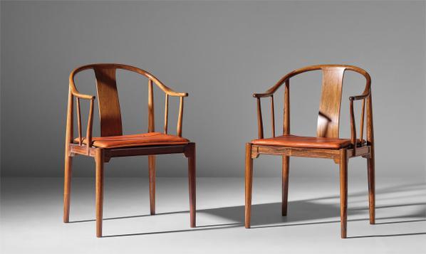 Hans J. Wegner-Pair Of China Chairs, Model No. 4283-1968