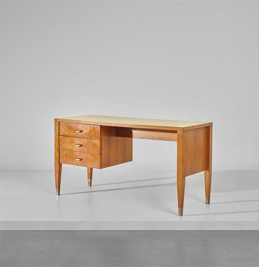 Gio Ponti-Desk, Designed For The Fondazione Livio E Maria Garzanti, Forli-1957