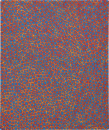 Yayoi Kusama-The Thames In The Morning-1988