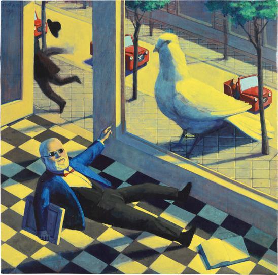 Liu Ye-Big Pigeon-1995