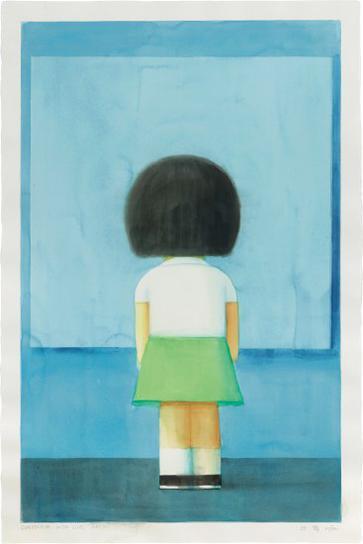 Liu Ye-Composition With Girl Back-2005