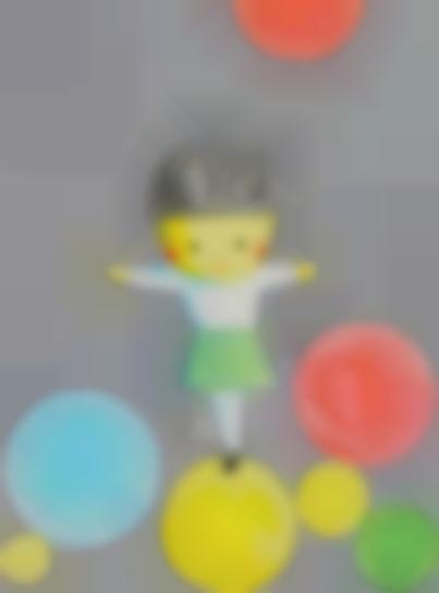 Liu Ye-Girl With Balloons-2001