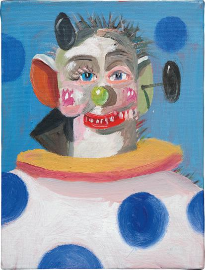 George Condo-Son Of Bozo-2009