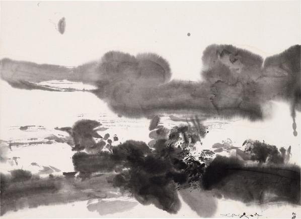 Zao Wou-Ki-Untitled-1975