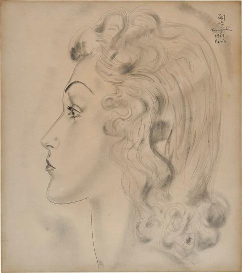 Tsuguharu Foujita-Untitled-1939