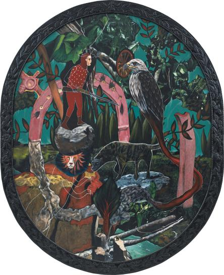 Rodel Tapaya-Protection In The Forest-2013