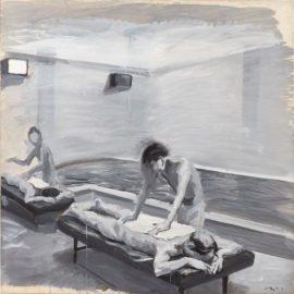 Liu Xiaodong-Boys In The Bathhouse No. 5-2000