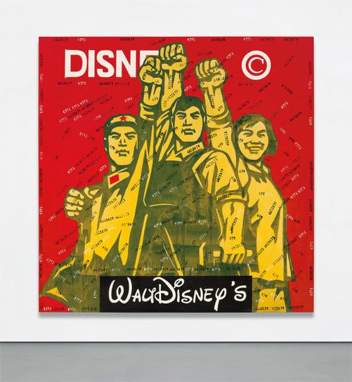 Wang Guangyi-Great Criticism: Disney-2000