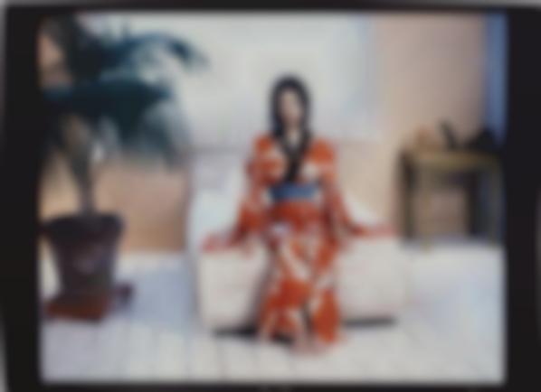 Nobuyoshi Araki-Red Kimono-2004