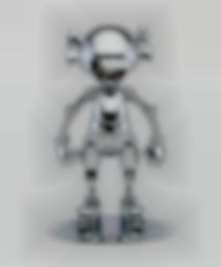 Kaws X Hajime Sorayama - No Future Companion (Silver Chrome)-2008