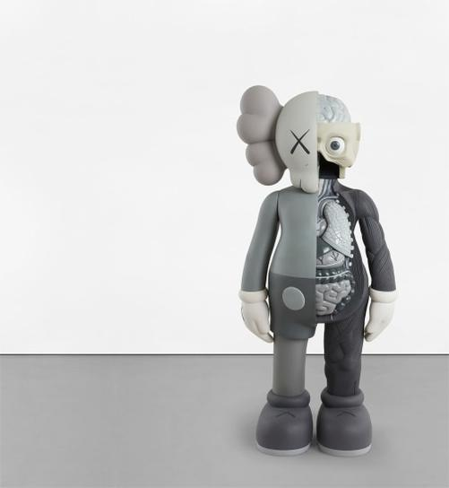 KAWS-Four Foot Dissected Companion (Grey)-2009