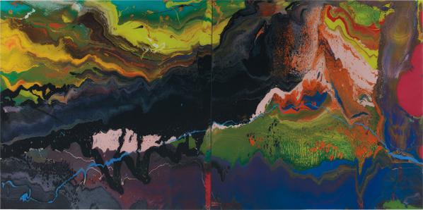 Gerhard Richter-Flow (P16)-2013