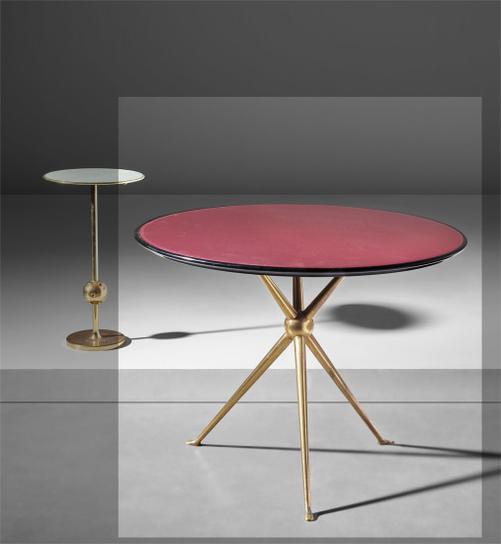 Osvaldo Borsani And Lucio Fontana - T1 Side Table-1950