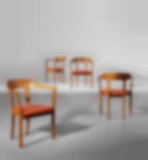 Ole Wanscher - Set Of Four Armchairs-1958