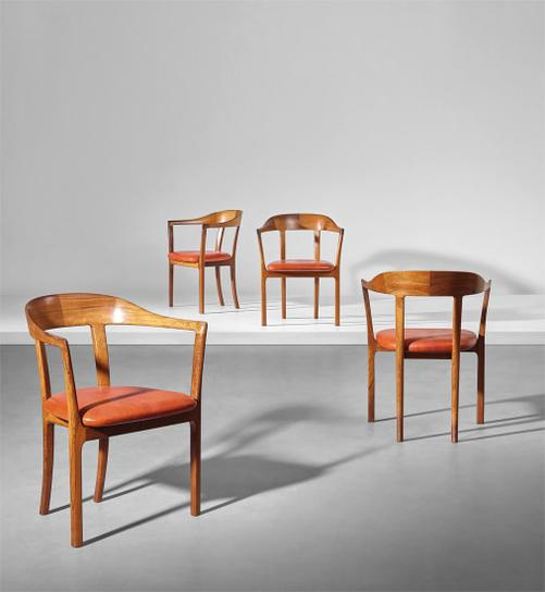 Ole Wanscher - Set Of Four Armchairs-1958
