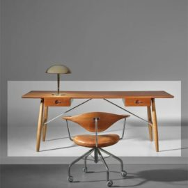 Hans J. Wegner-Early Architects Desk, Model No. Jh571-1953