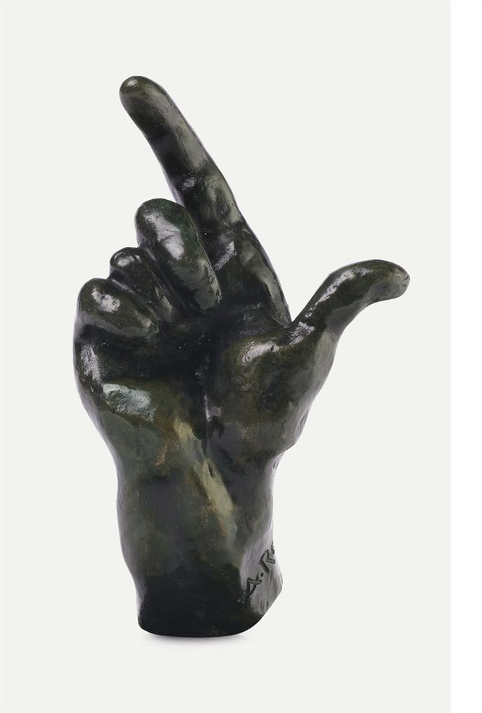 Auguste Rodin-Main Droite No. 27-1877