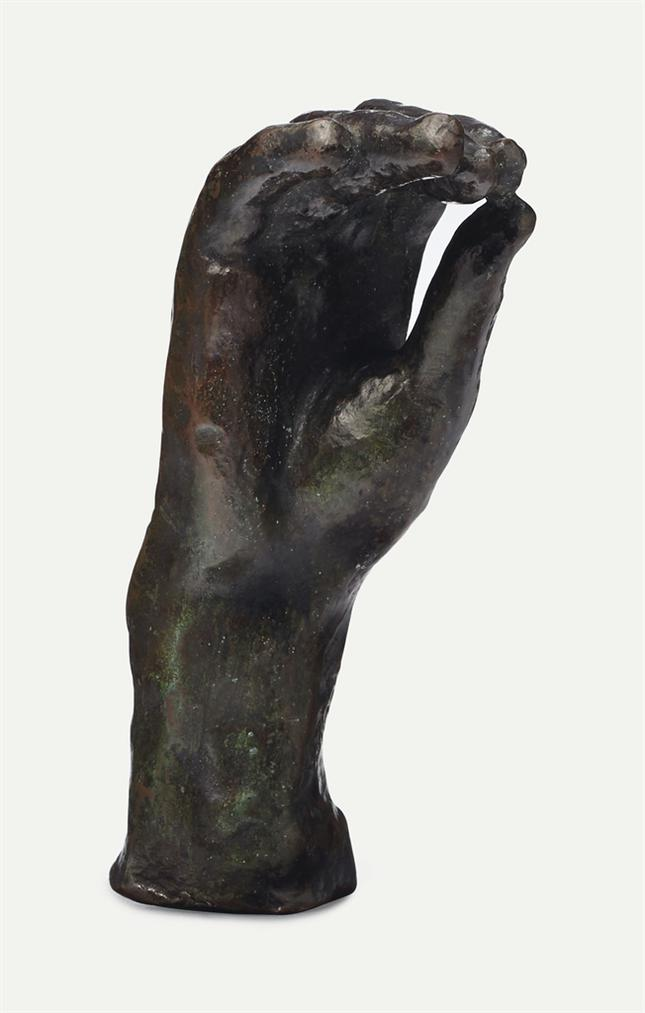 Auguste Rodin-Main N°22, Petit Modele-1908