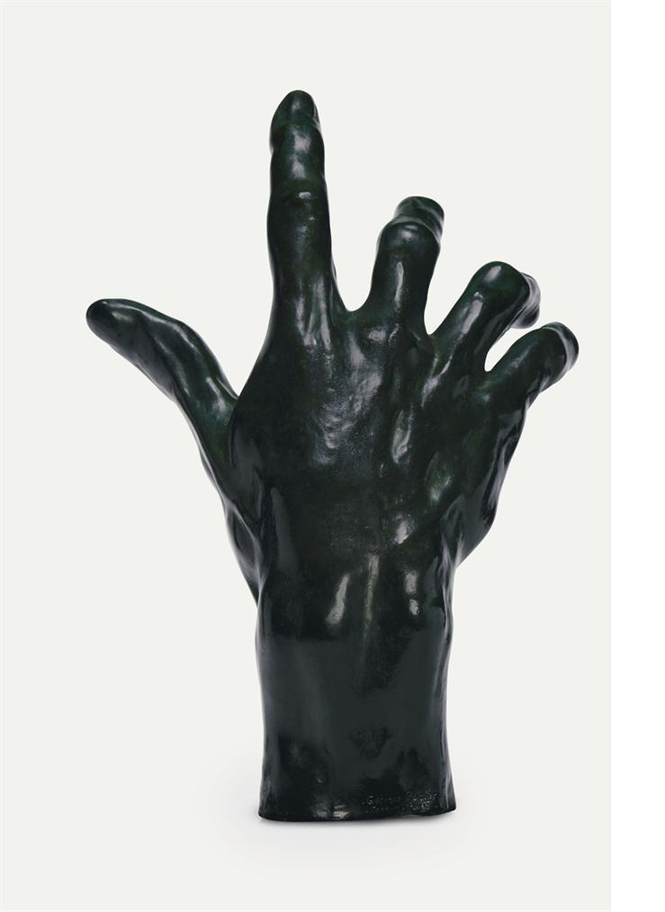 Auguste Rodin-Lun Des Bourgeois De Calais: Main Droite De Pierre Et Jacques De Wissant, Etat Definitif-1886