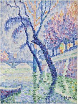 Paul Signac-Pont Des Arts, Inondation-1930