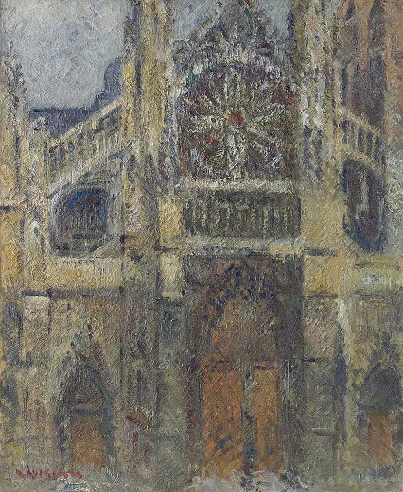 Gustave Loiseau-Leglise De Saint-Jacques, Dieppe-