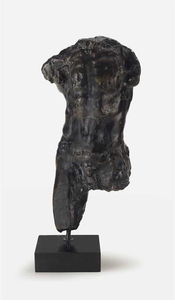 Auguste Rodin-Etude Pour Lhomme Qui Marche Dite Aussi Torse De Lhomme Qui Marche-1887