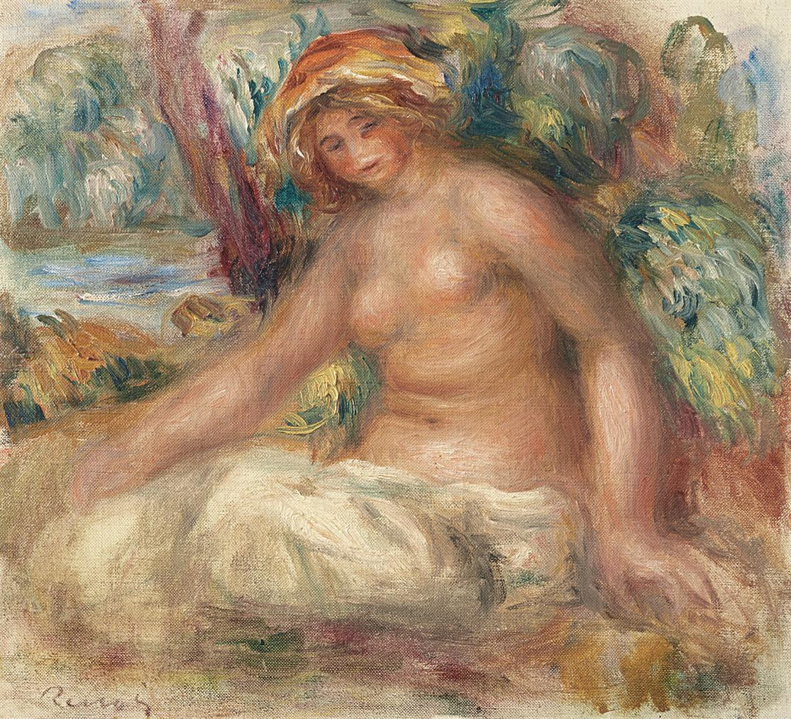 Pierre-Auguste Renoir-Nu Assis-1902