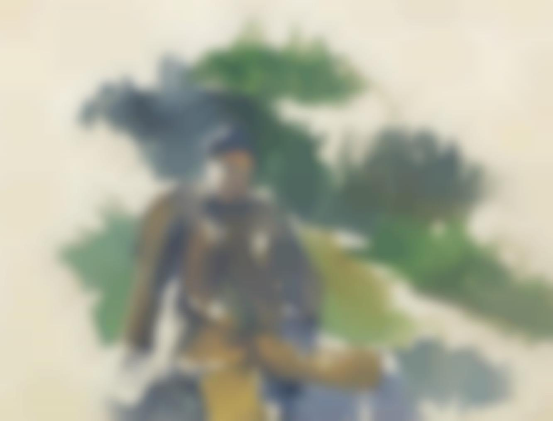 Paul Cezanne-Garcon Assis-1895