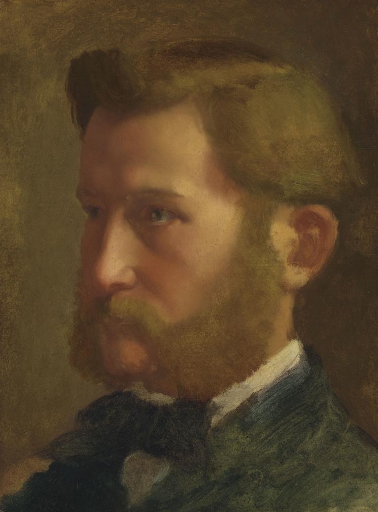 Edgar Degas-Paul Valpincon-1872