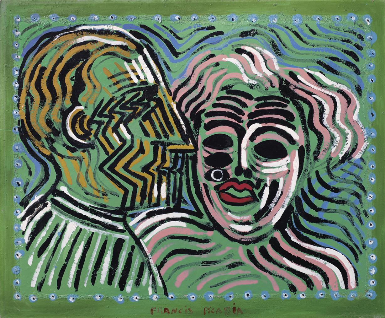 Francis Picabia-Couple-1927
