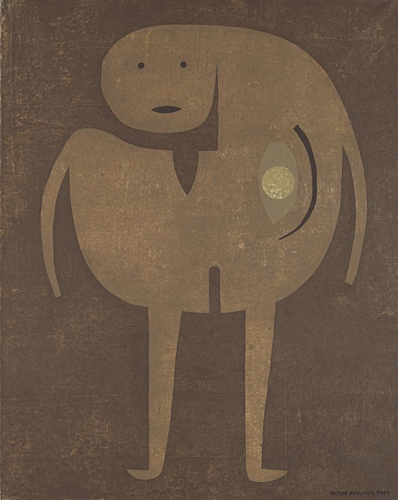Victor Brauner-Endopromeneur-1961