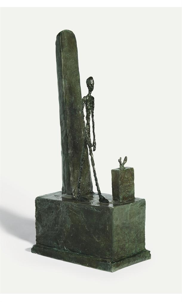Alberto Giacometti-Projet Pour Un Monument A Gabriel Peri-1946