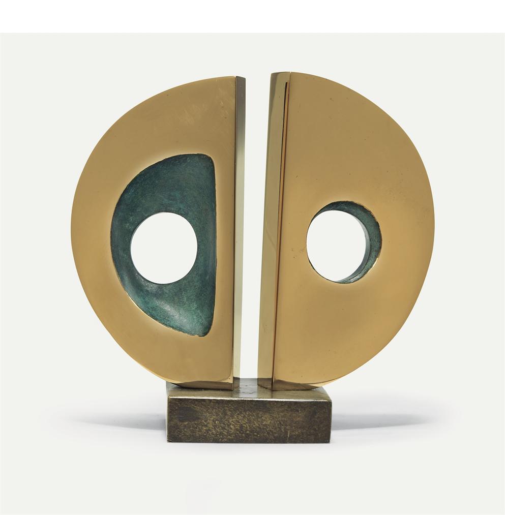 Barbara Hepworth-Miniature Divided Circle-1971