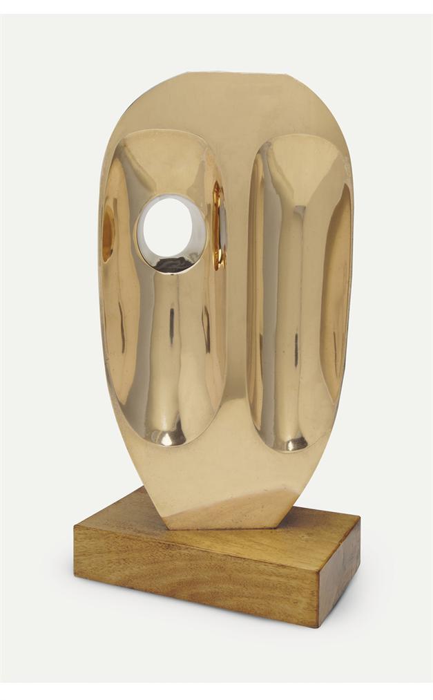 Barbara Hepworth-Vertical Form (St Ives)-1969
