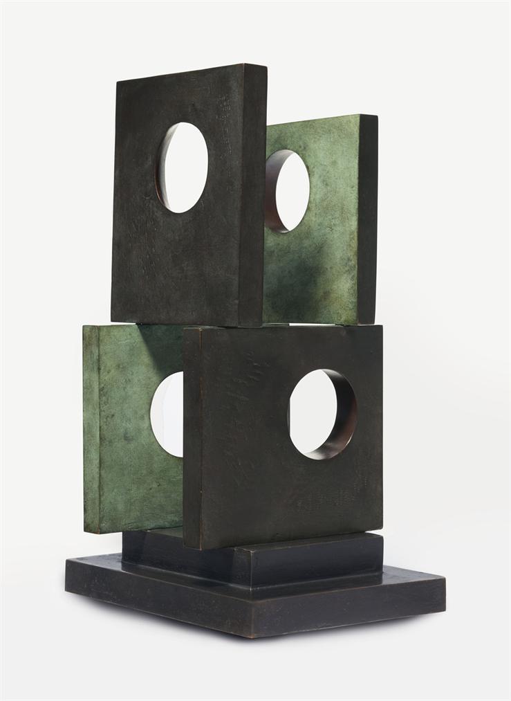Barbara Hepworth-Four-Square (Four Circles)-1966