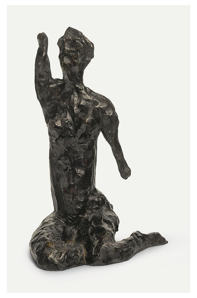 Henri Matisse-Nu Assis, Bras Leve-1949