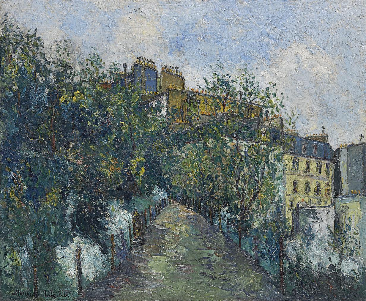 Maurice Utrillo-Le Square Saint-Pierre A Montmartre-1908